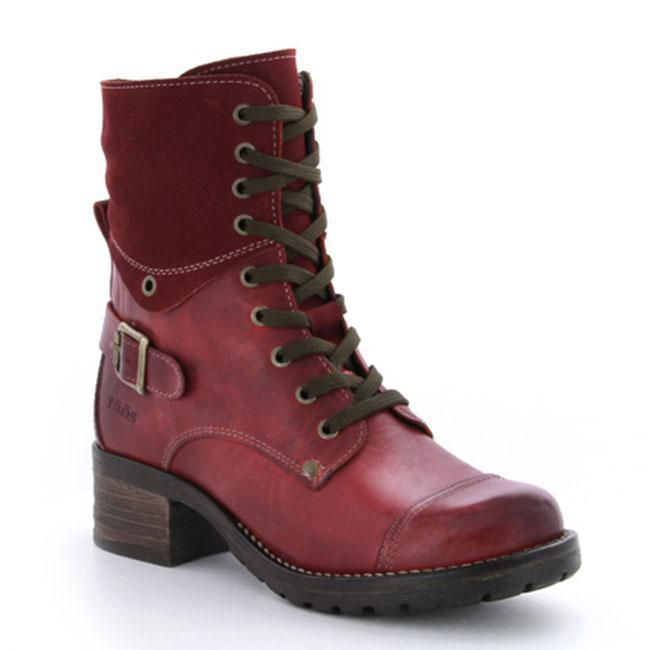 Taos Crave Red Leather 42