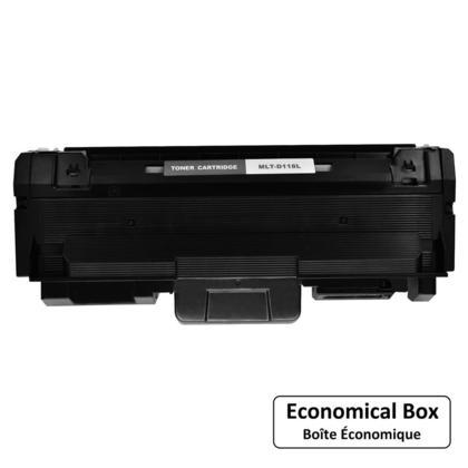 Compatible Samsung MLT-D118L cartouche de toner compatbile noire haute capacite - boite economique