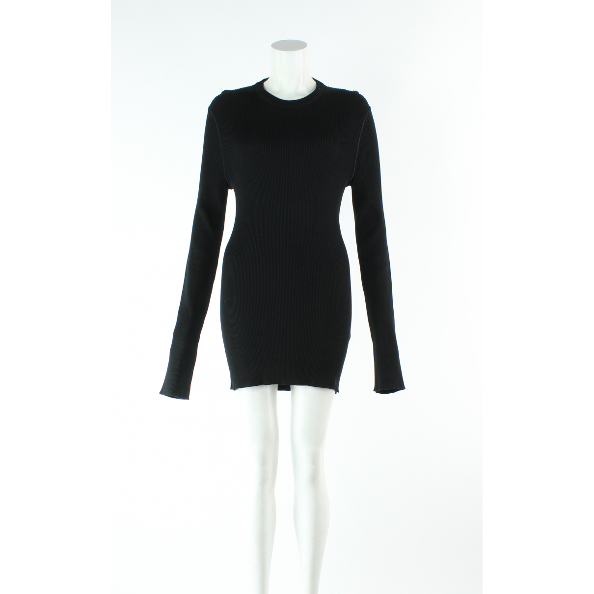 Dolce & Gabbana \N Black Cotton dress for Women 54-56 IT