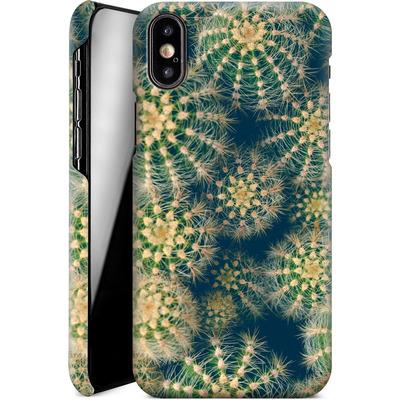 Apple iPhone X Smartphone Huelle - Kingwood Cactus von Joy StClaire