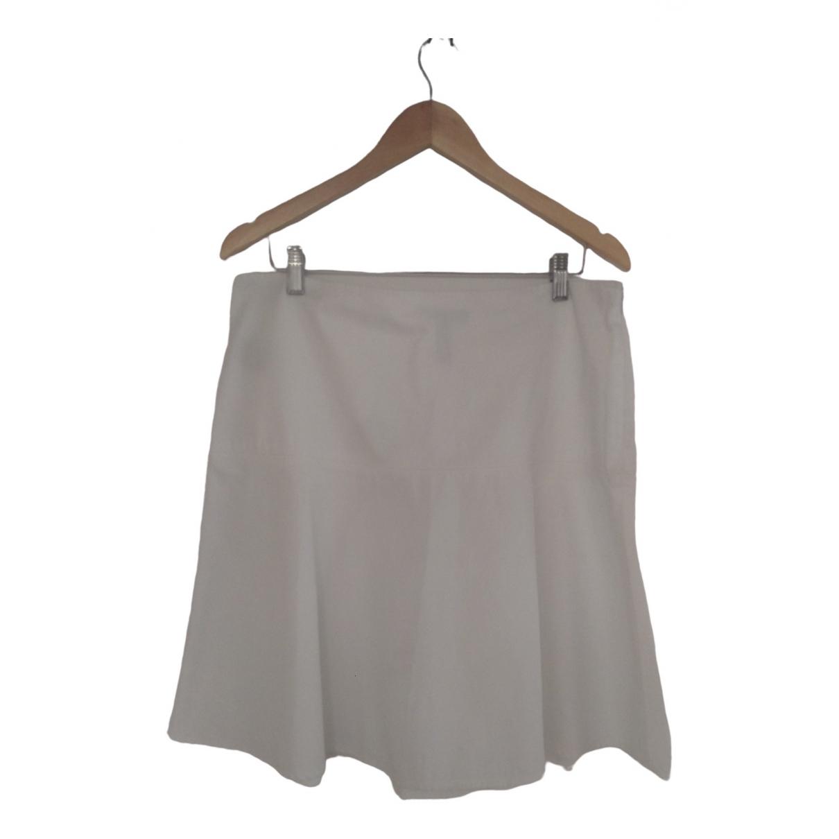 Lauren Ralph Lauren \N White Cotton skirt for Women L International