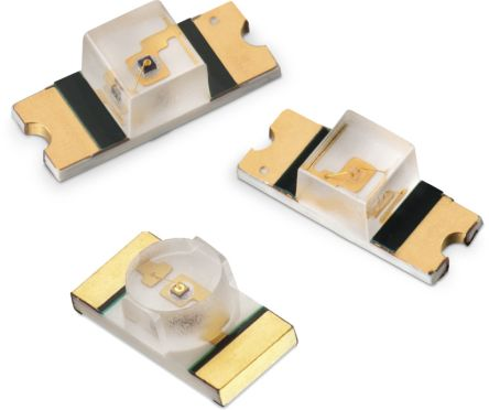 Wurth Elektronik 2.4 V Amber LED 3216 (1206) SMD,  WL-SMRW 156120AS82500 (25)