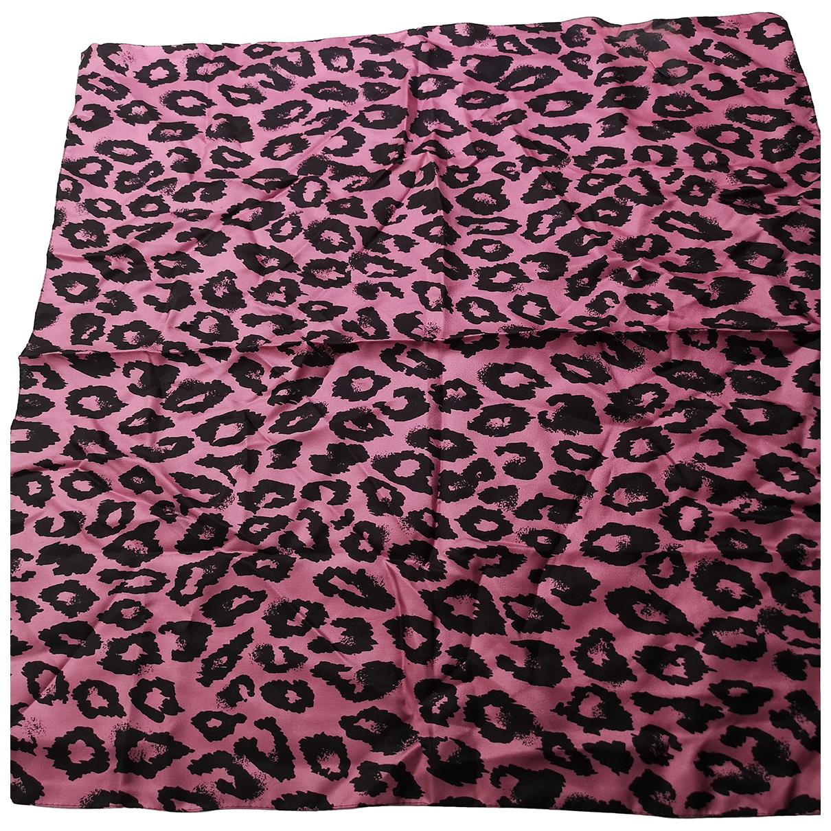 Blumarine - Foulard   pour femme en soie - rose