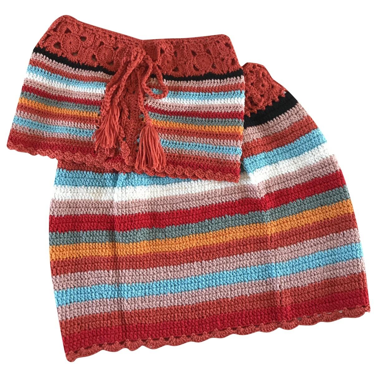 Non Signé / Unsigned \N Multicolour Cotton Swimwear for Women S International