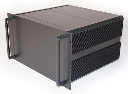 RS PRO , 6U Rack Mount Case, 465 x 425 x 262mm, Black