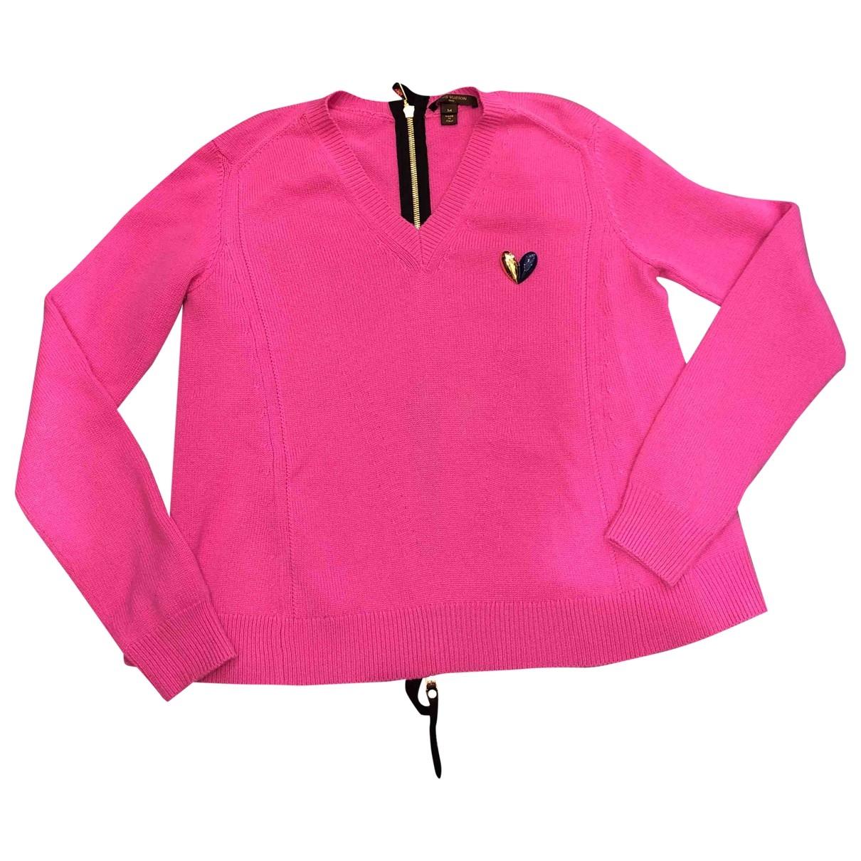 Louis Vuitton - Pull   pour femme en cachemire - rose