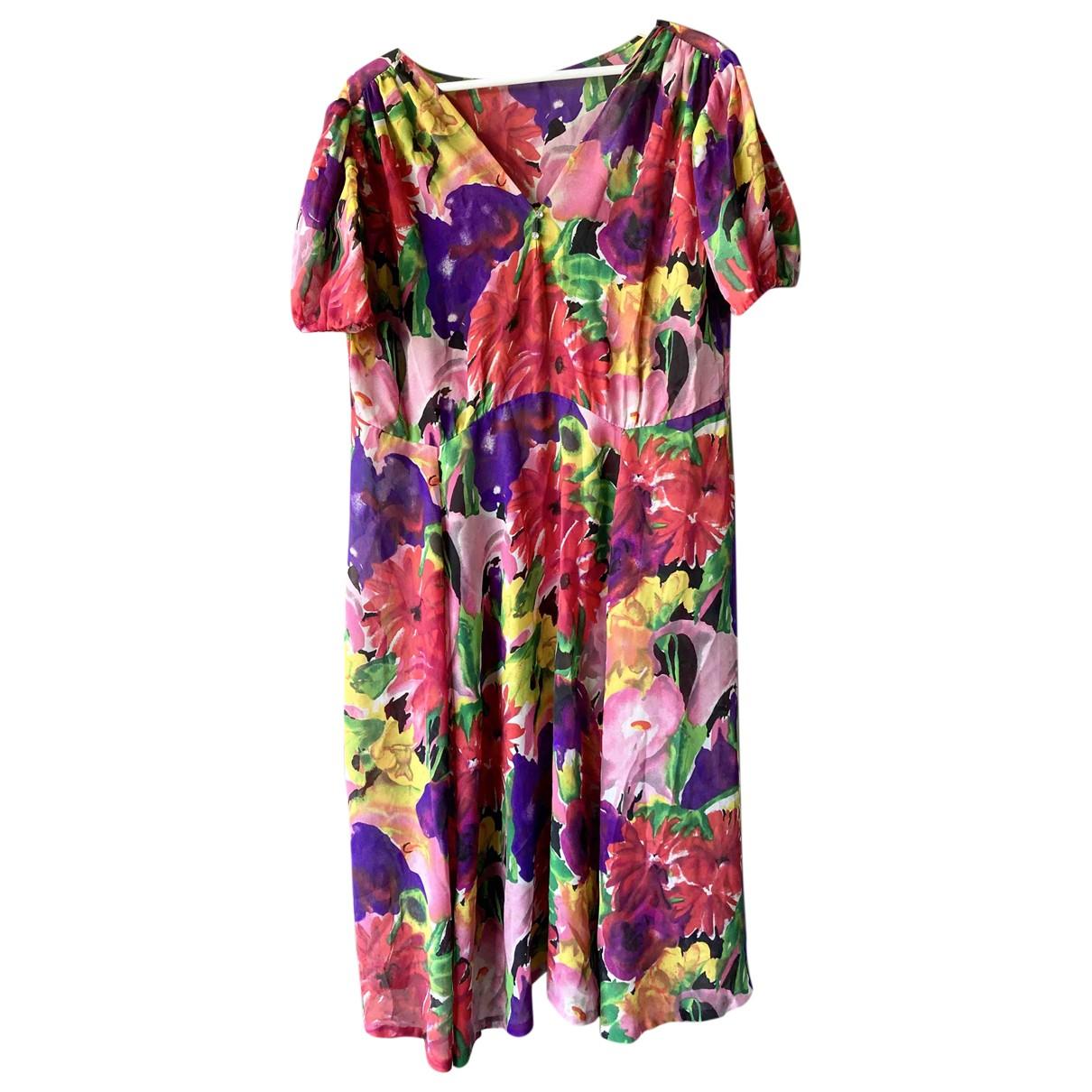 Non Signe / Unsigned Oversize Kleid in Seide