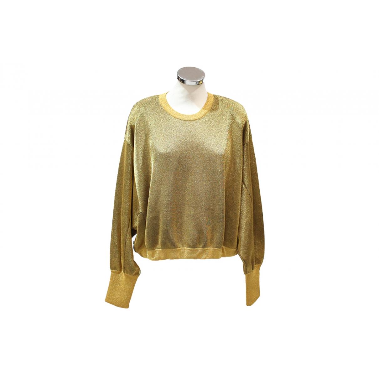Louis Vuitton - Pull   pour femme en laine - dore