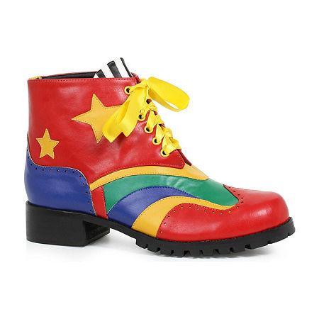 Clown Shoe Adult Multi, Large , Multiple Colors