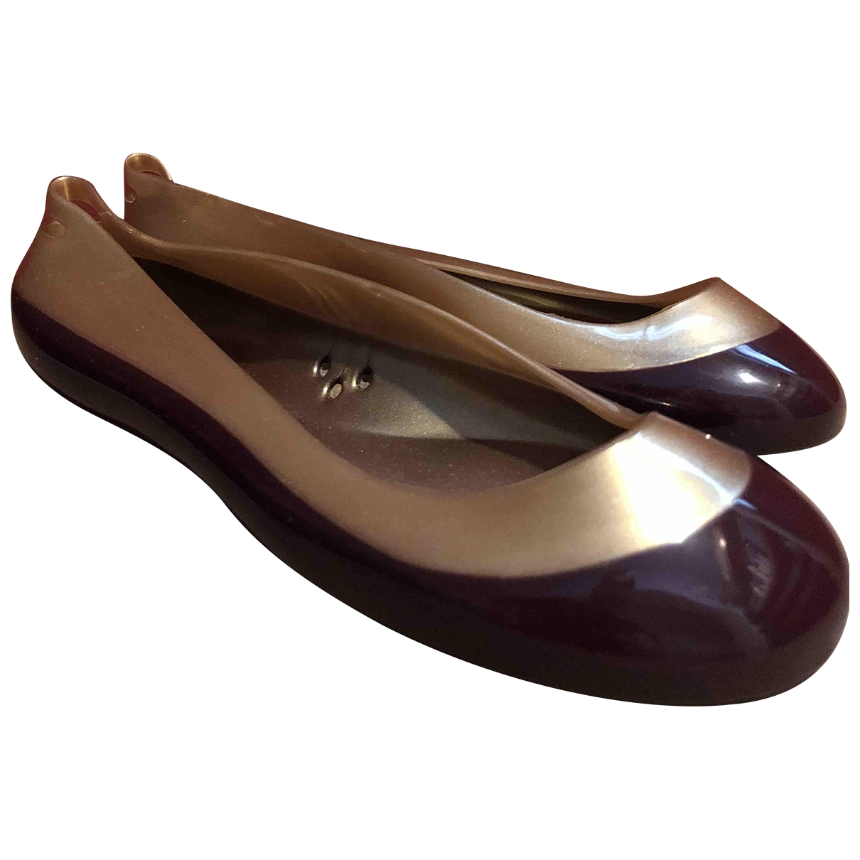Kartell \N Gold Ballet flats for Women 36 EU