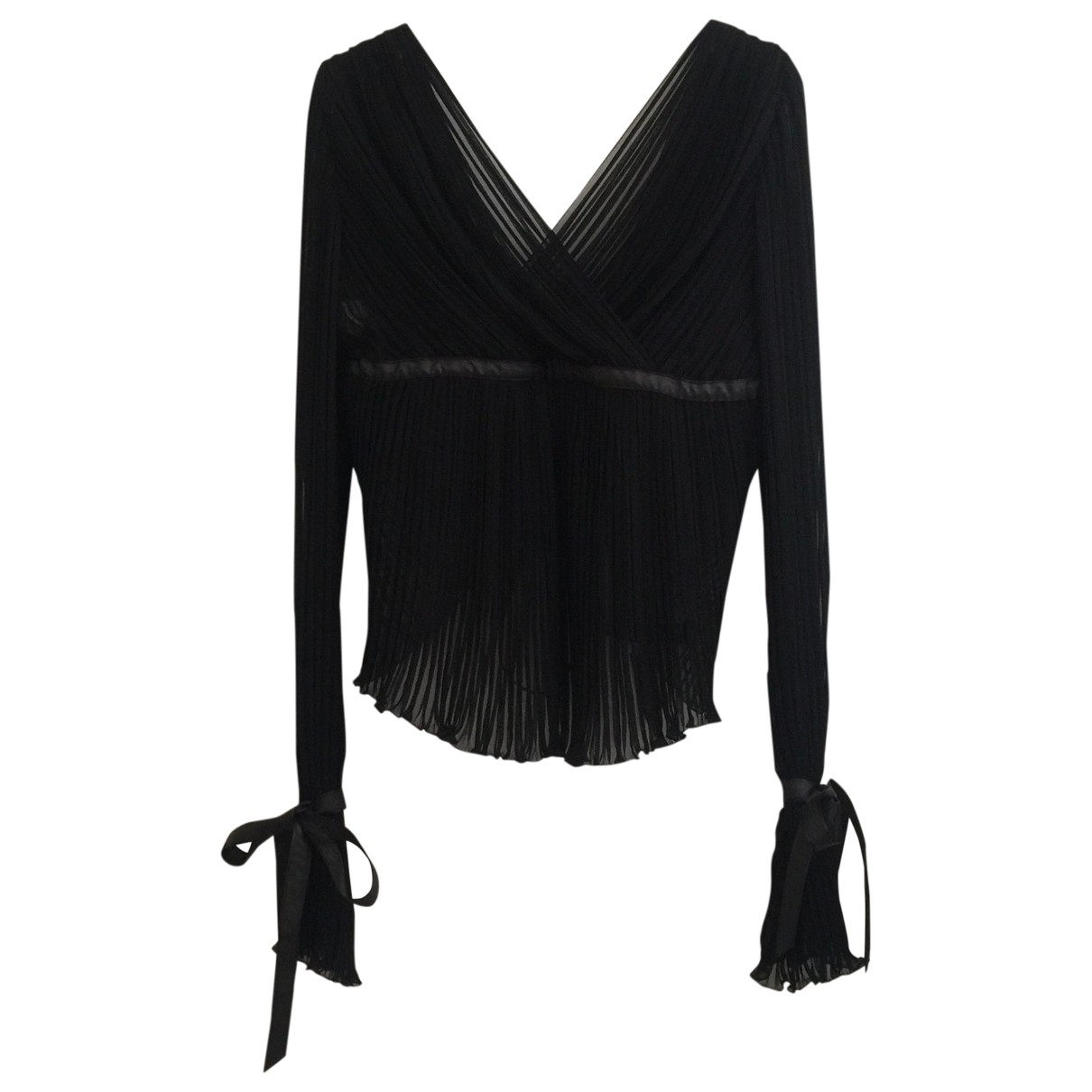 Alberta Ferretti \N Black  top for Women 44 IT