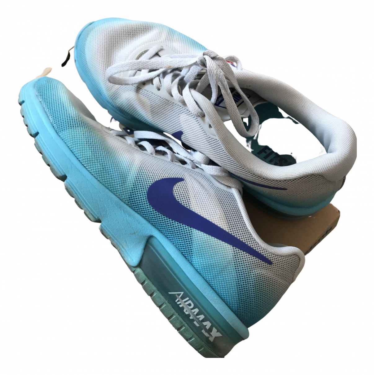 Nike Air Max  Blue Trainers for Women 38 EU