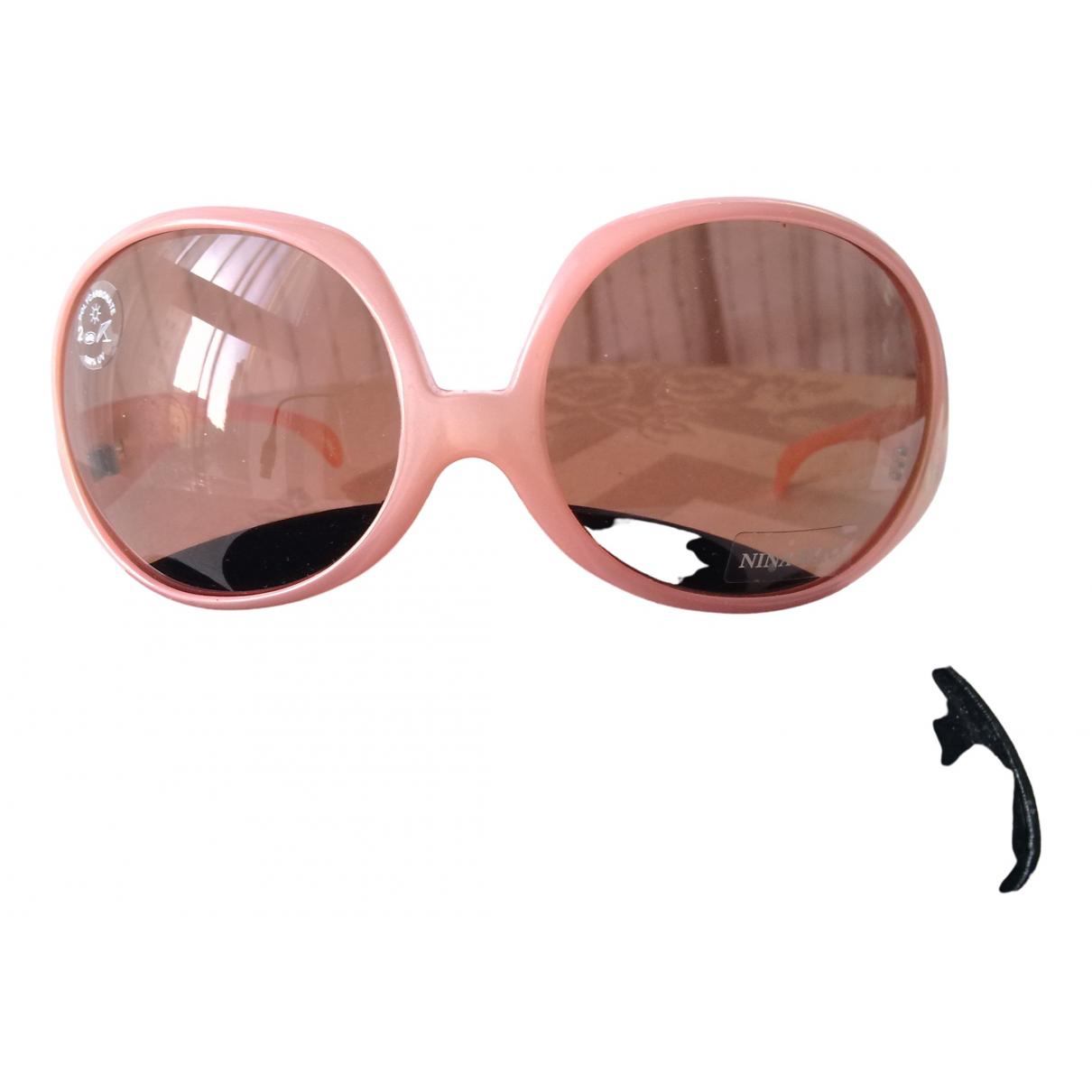 Nina Ricci N Pink Sunglasses for Women N
