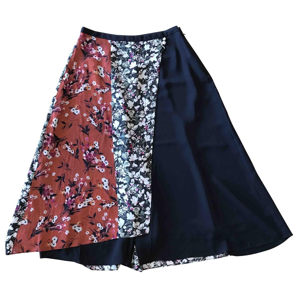 Acne Studios \N Black Silk skirt for Women 38 FR