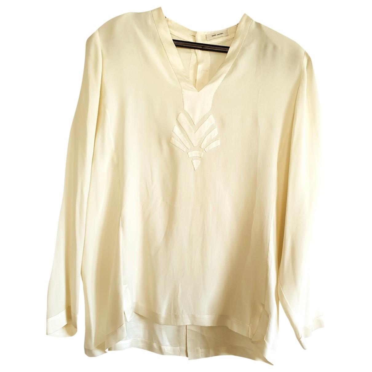 Marc Jacobs \N Beige Silk  top for Women 44 FR