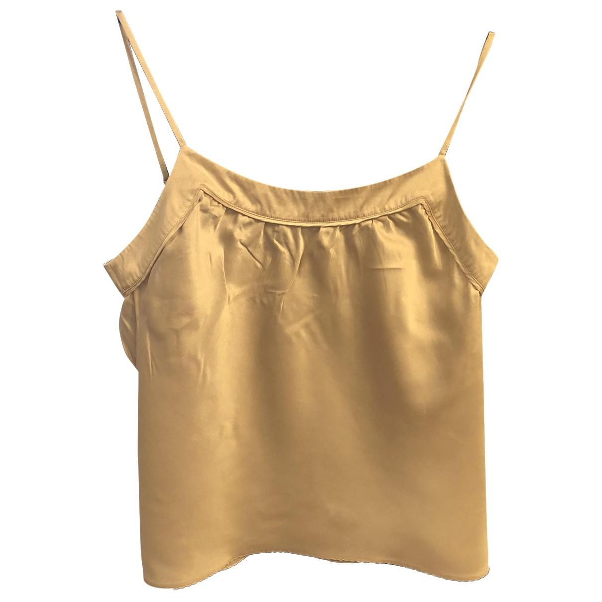 Stella Mccartney For H&m - Top   pour femme en soie - beige