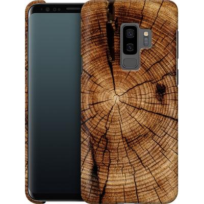Samsung Galaxy S9 Plus Smartphone Huelle - Tree Rings von caseable Designs