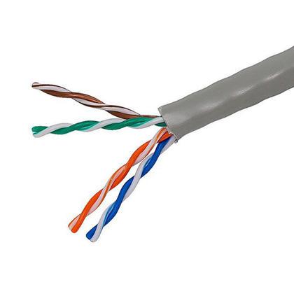 Cat5e 24AWG UTP câble en vrac Échoué, classé CM, 1000pi - Monoprice® - Gris