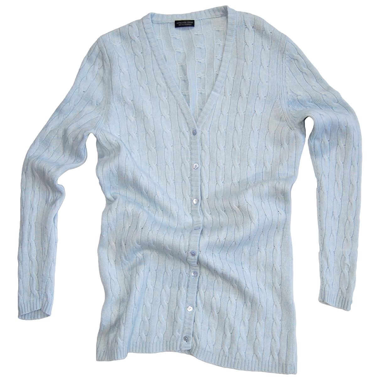 Non Signé / Unsigned \N Blue Wool Knitwear for Women 48 IT
