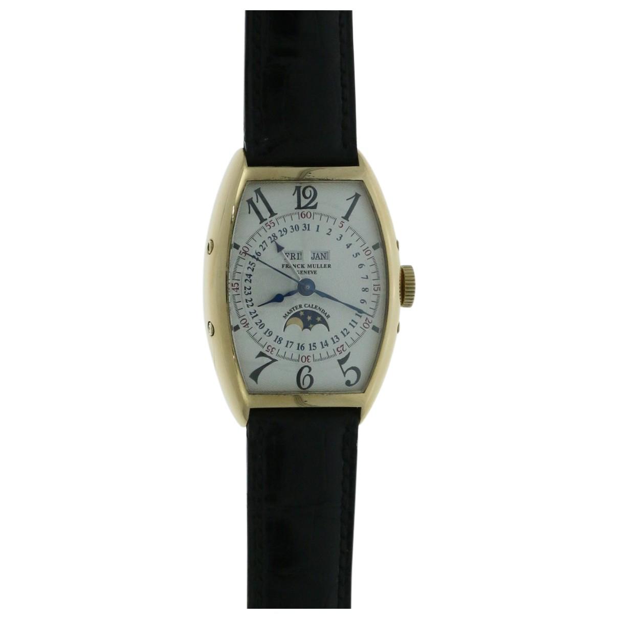 Franck Muller \N Uhr in  Silber Gelbgold