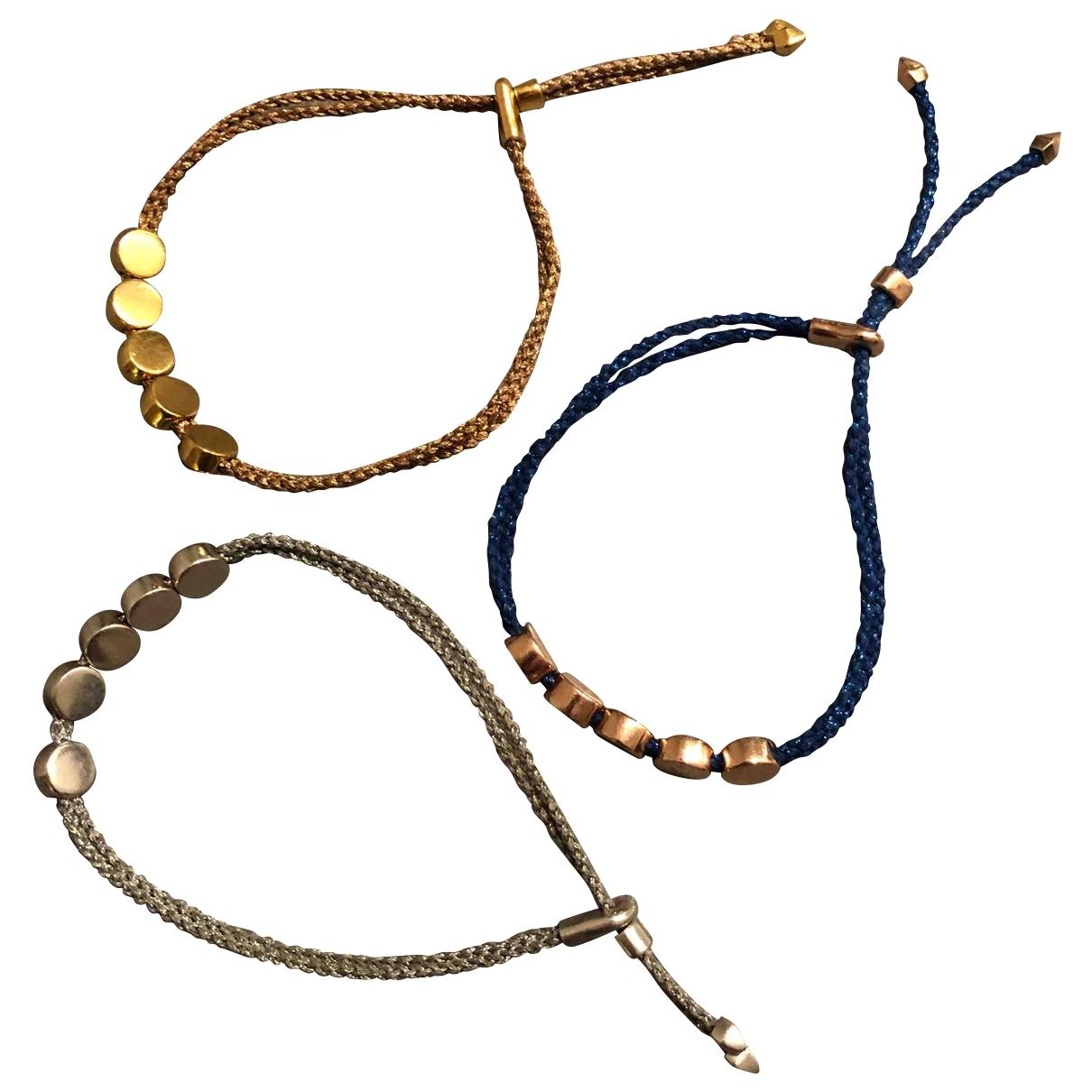 Monica Vinader - Bracelet   pour femme en plaque or