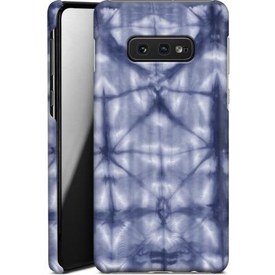 Samsung Galaxy S10e Smartphone Huelle - Tie Dye 2 Navy von Amy Sia