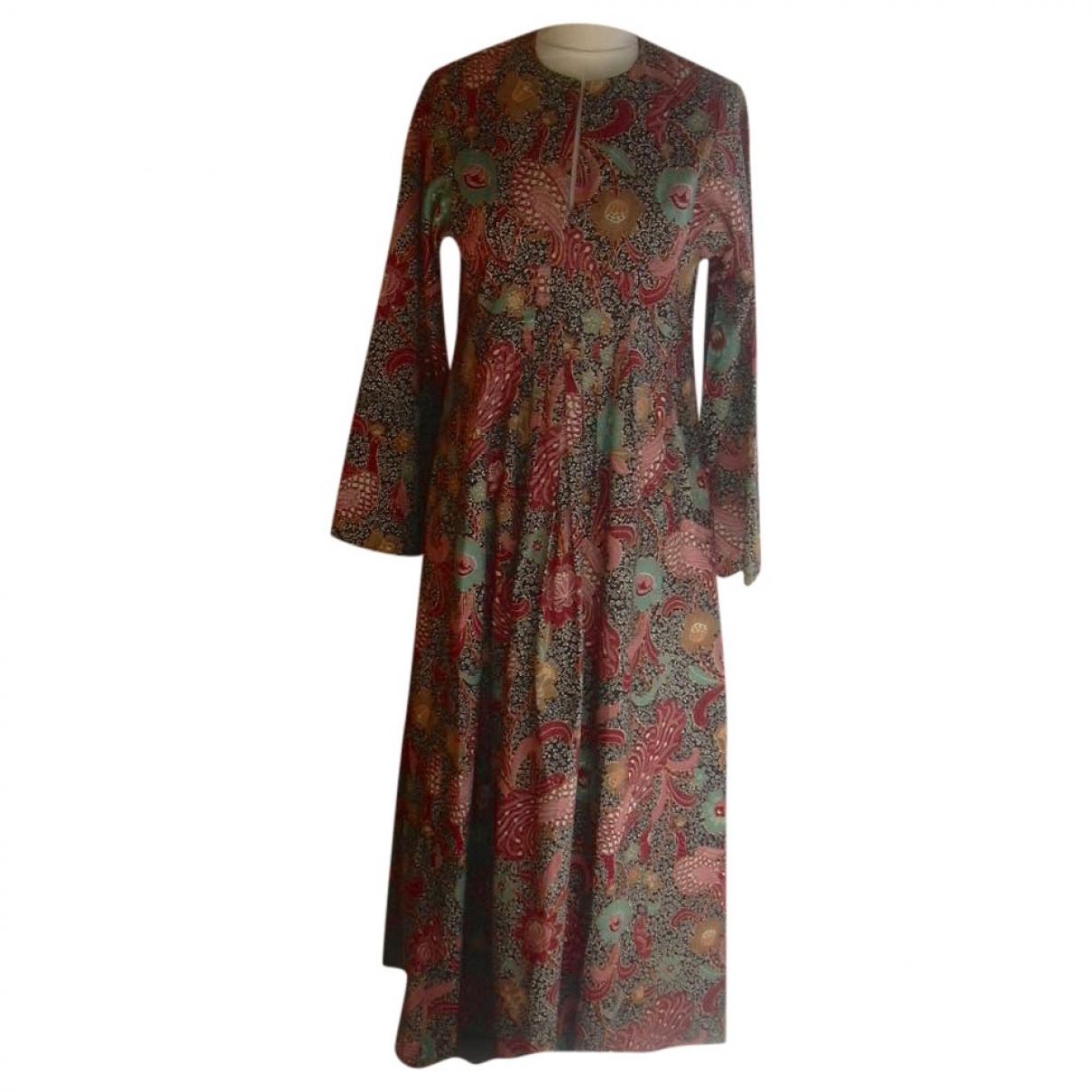 - Robe Hippie Chic pour femme en coton - multicolore