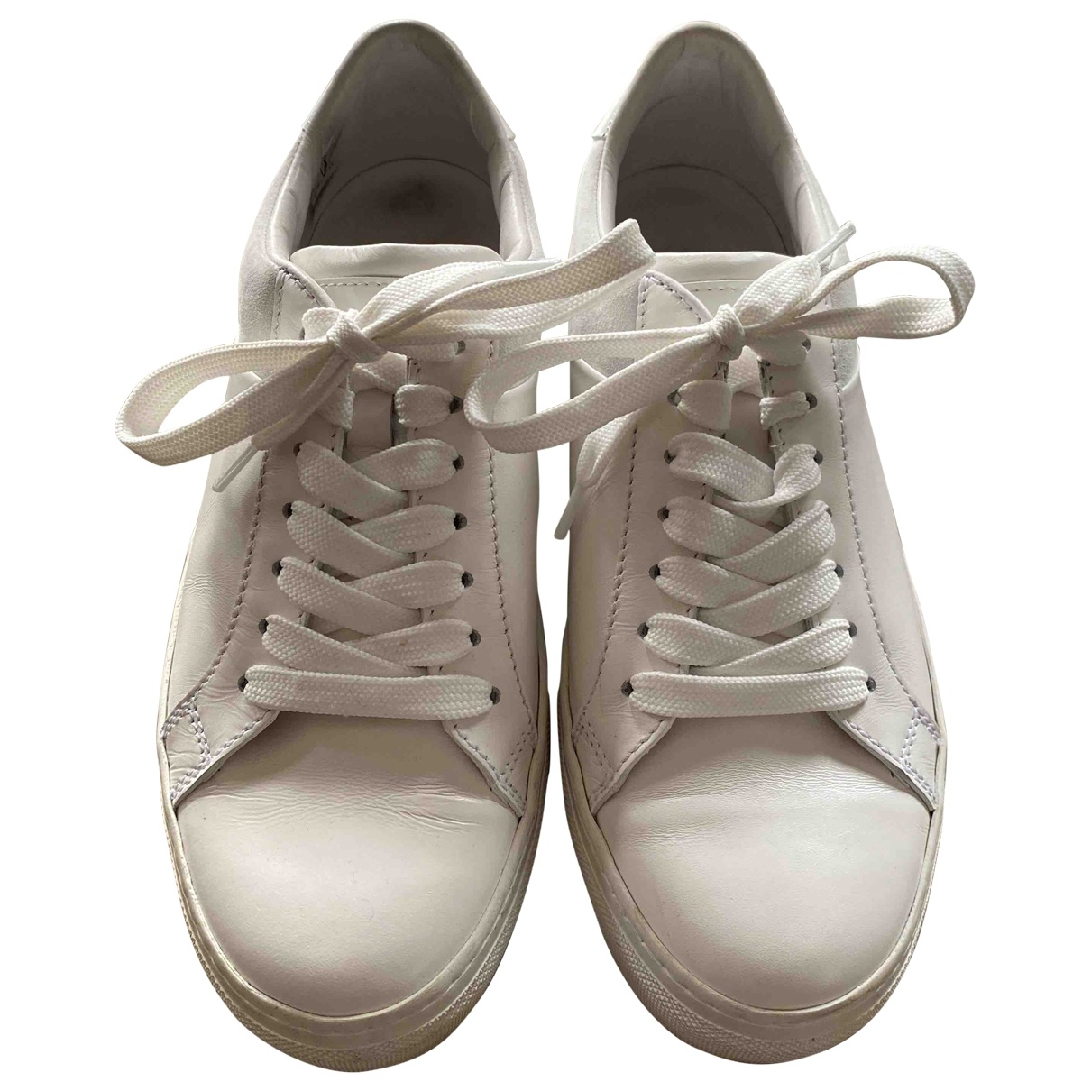 Tod's \N White Leather Trainers for Women 36.5 EU