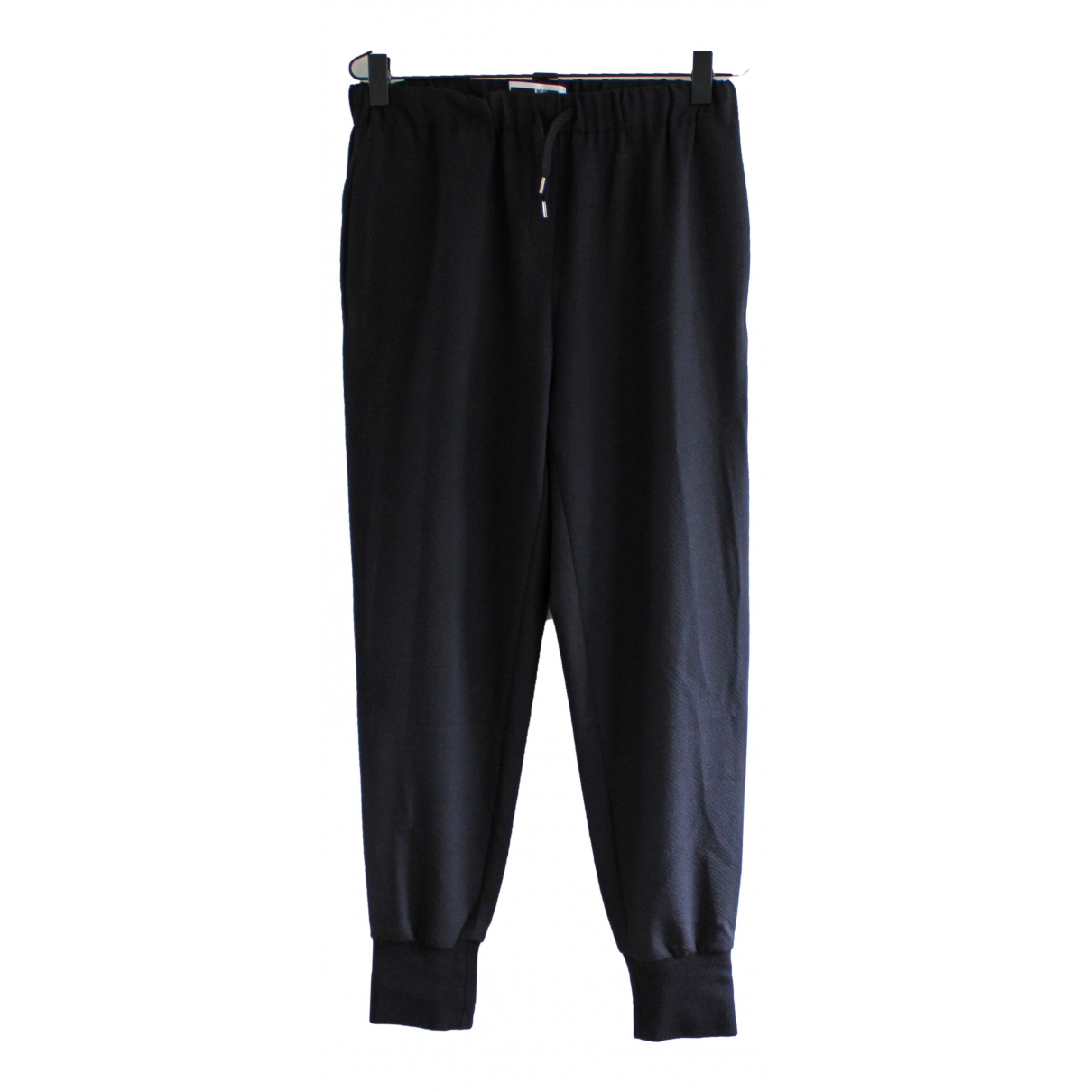 Alexander Mcqueen \N Black Trousers for Men M International