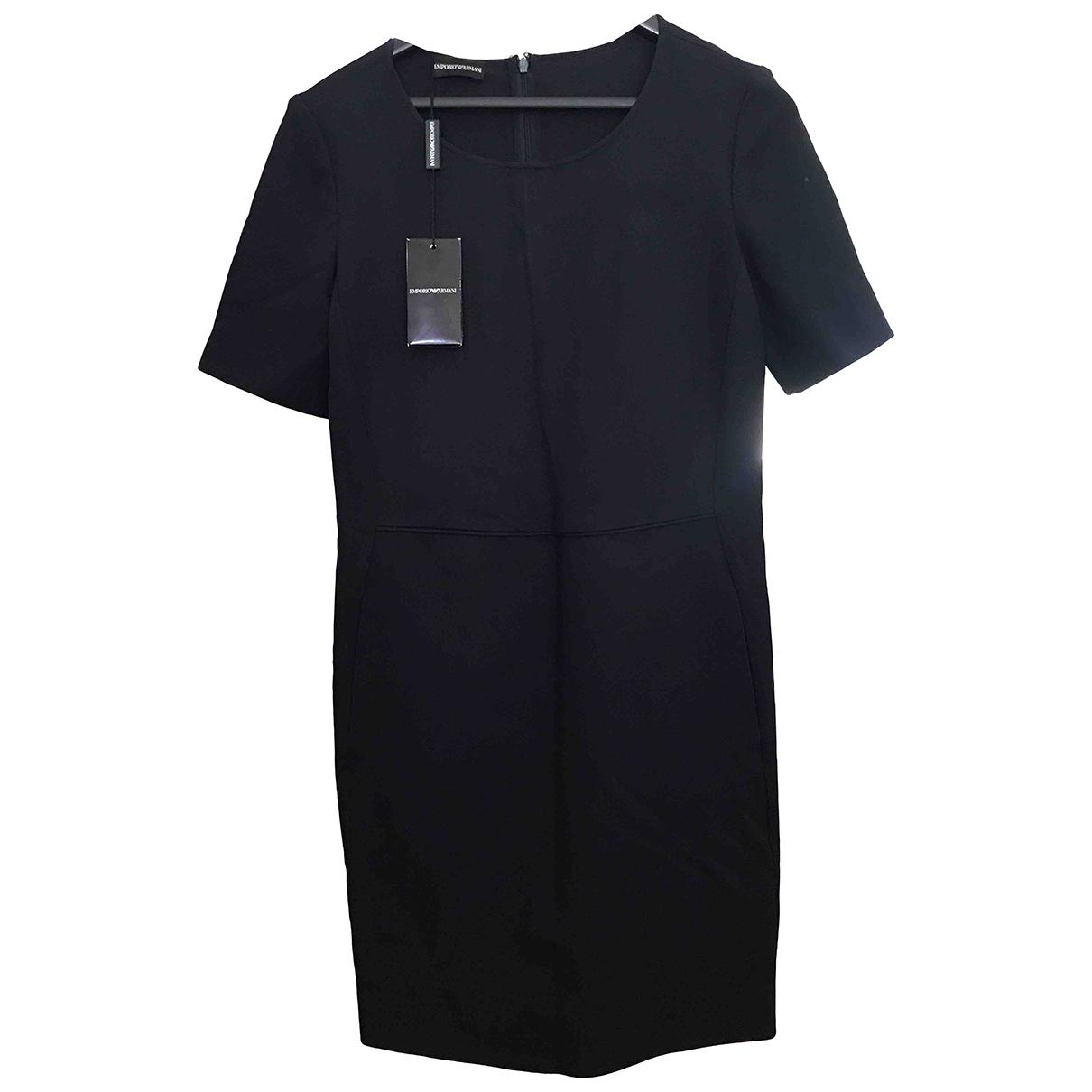 Emporio Armani - Robe   pour femme - bleu