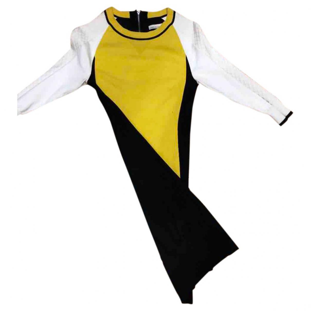 Karen Millen \N Kleid in  Bunt Baumwolle