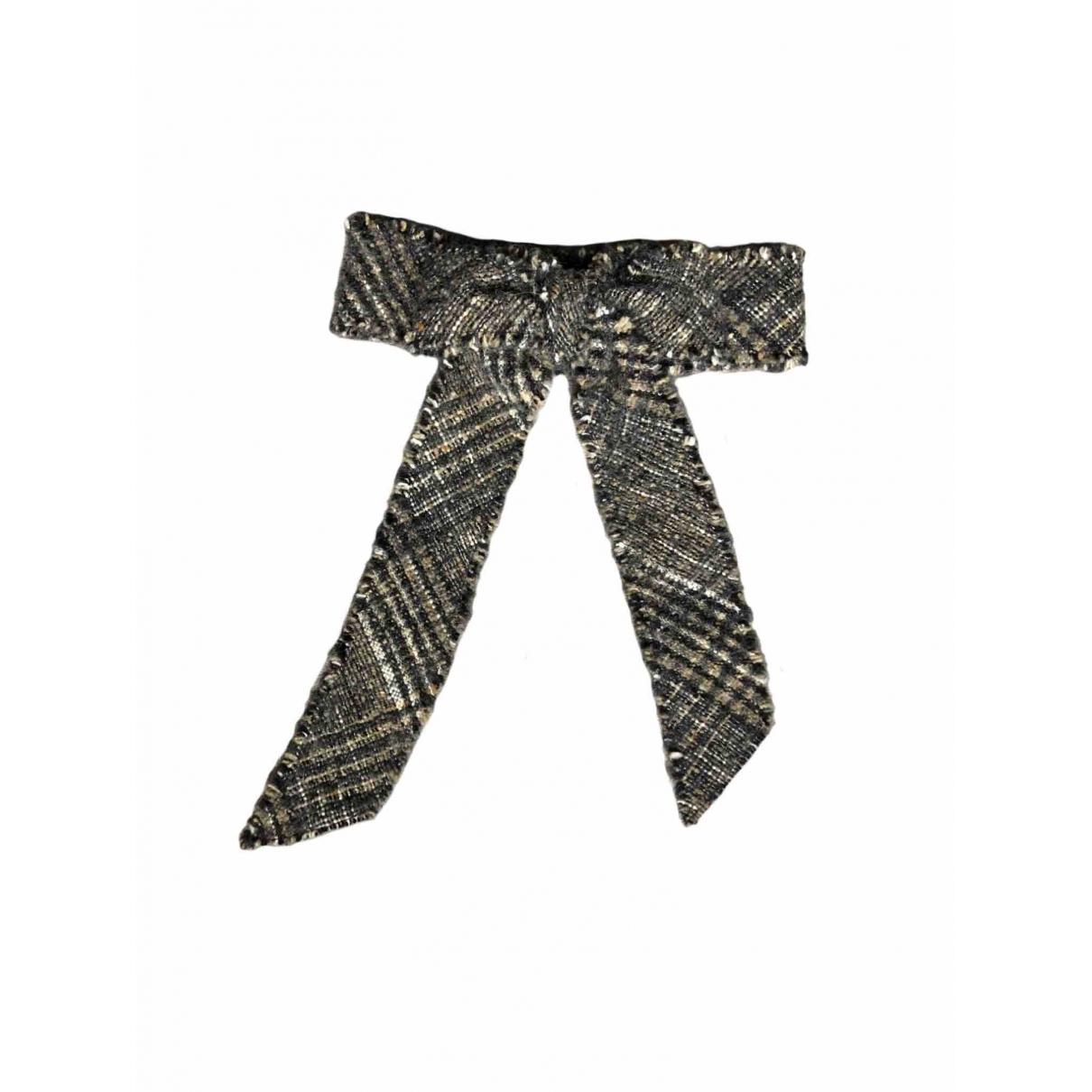 Louis Vuitton \N Haarschmuck in  Grau Leinen