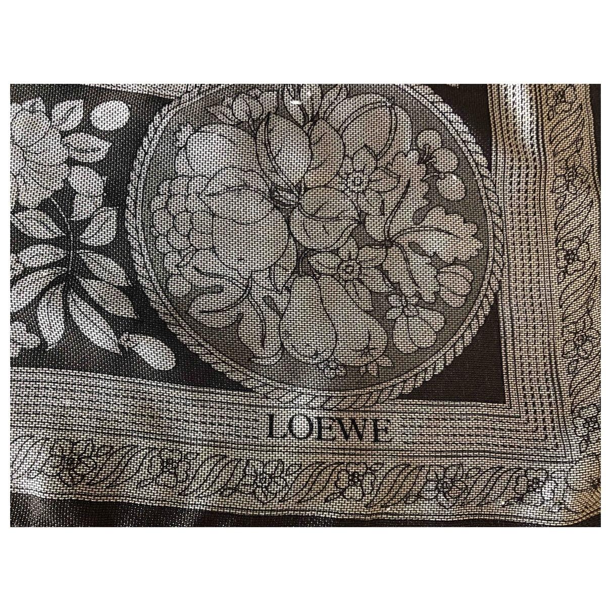 Loewe - Foulard   pour femme en autre - gris