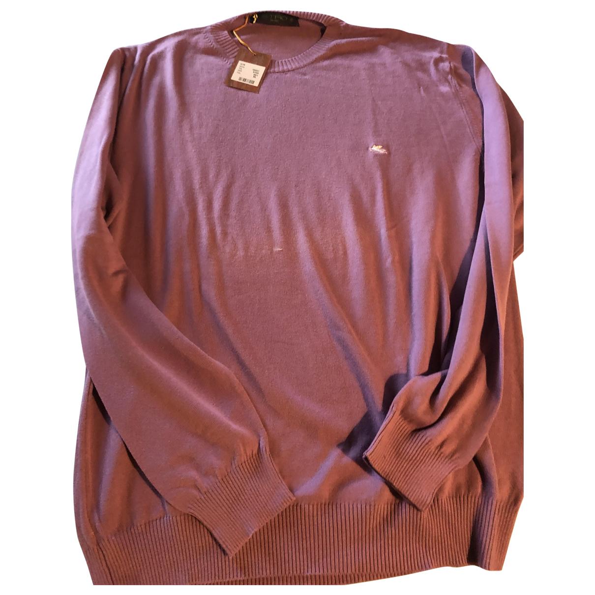 Etro - Pulls.Gilets.Sweats   pour homme en coton - rose
