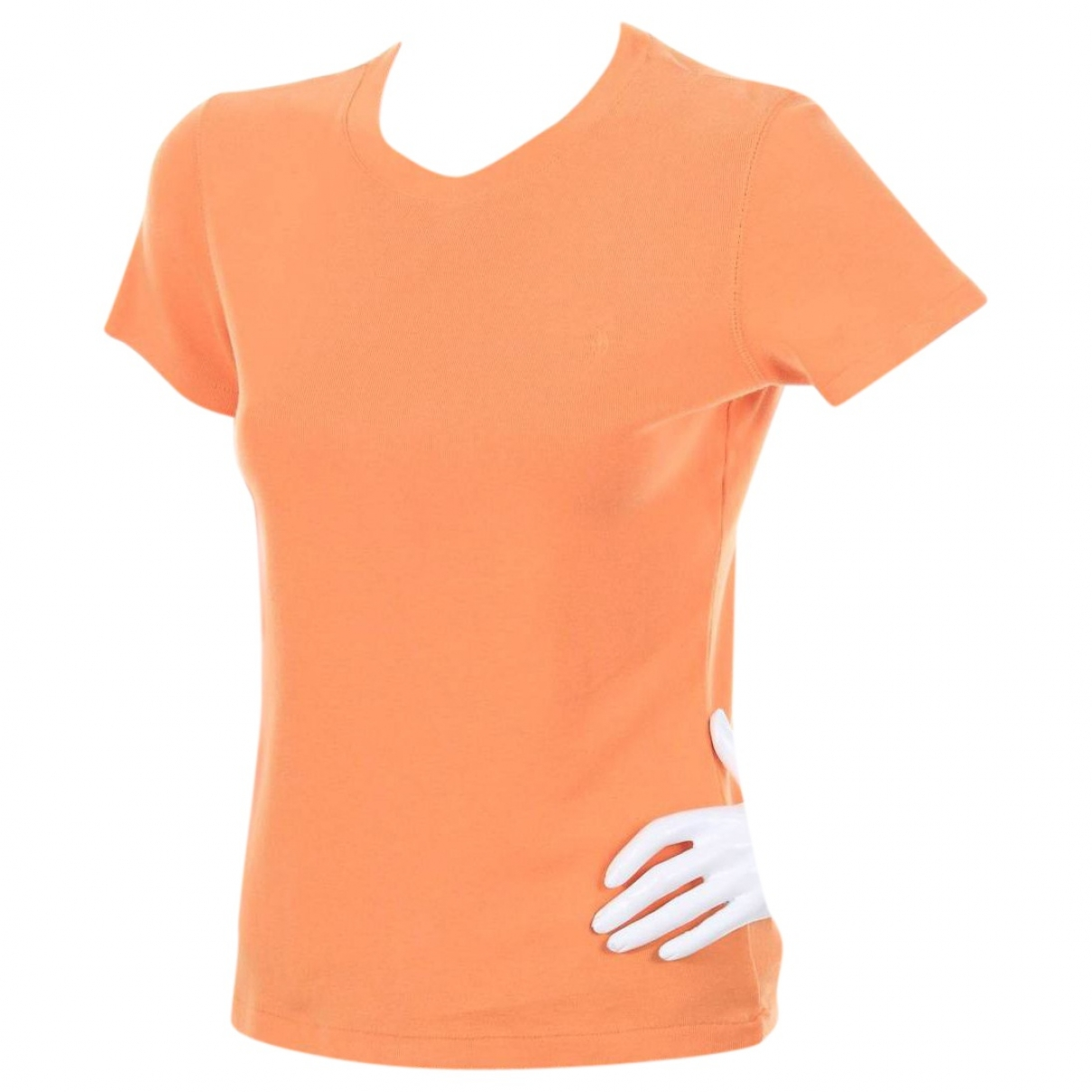 Polo Ralph Lauren \N Orange Cotton  top for Women L International