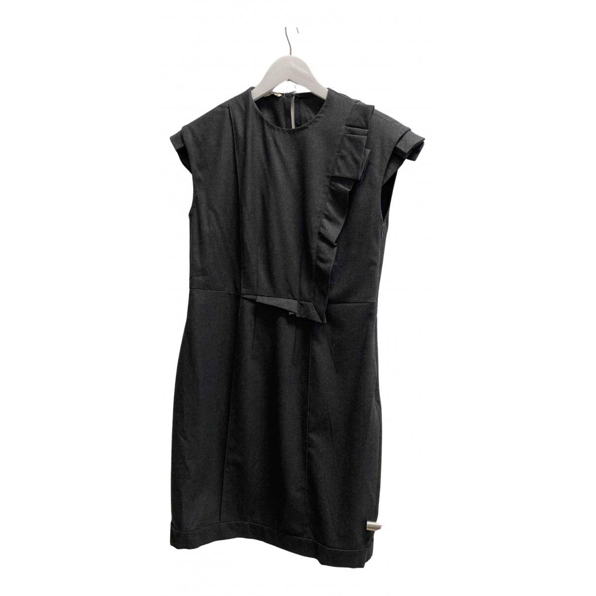 Miu Miu - Robe   pour femme en laine - gris