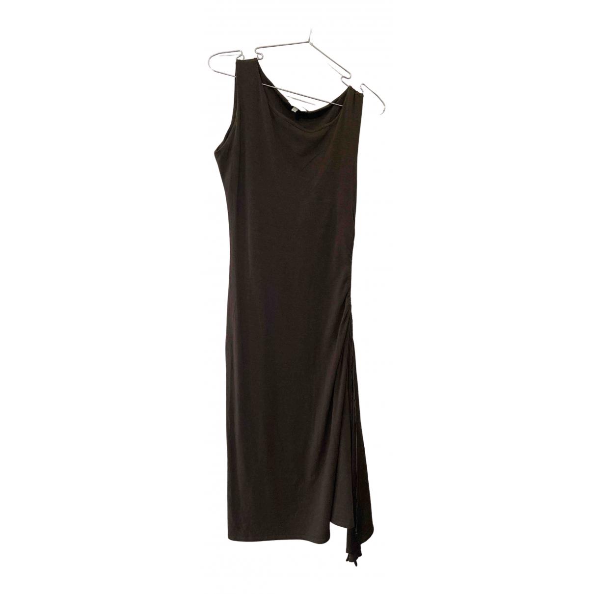 Max Mara - Robe   pour femme en coton - vert