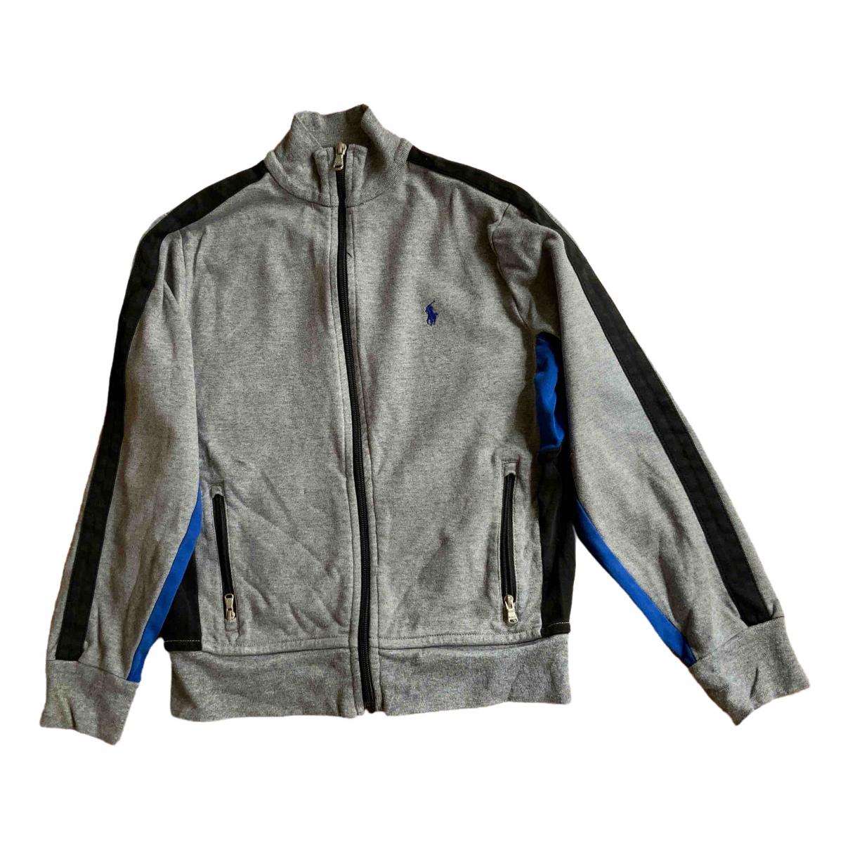 Polo Ralph Lauren \N Oberteile in  Grau Baumwolle