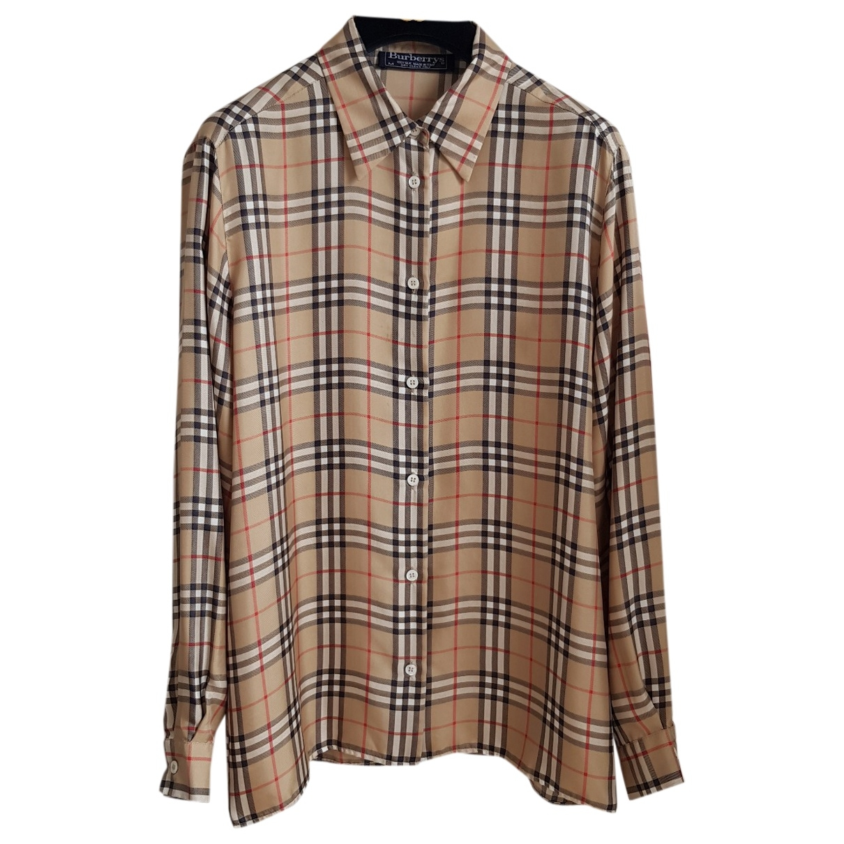 Burberry \N Beige Cotton  top for Women M International