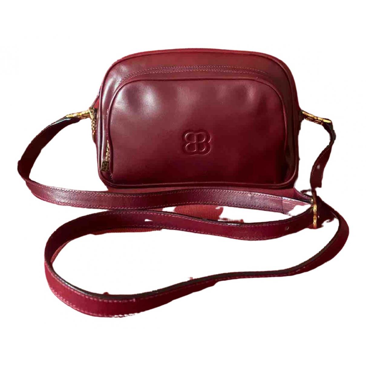 Balenciaga \N Burgundy Leather Clutch bag for Women \N