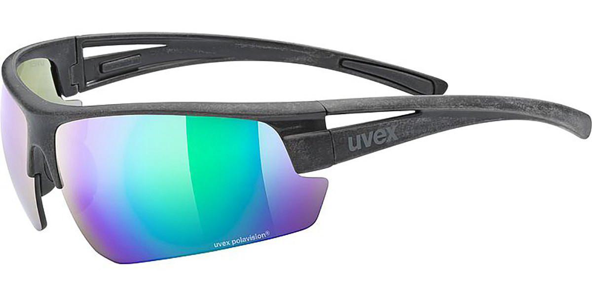 UVEX SPORTSTYLE OCEAN P 5320892270 Men's Sunglasses Black Size Standard