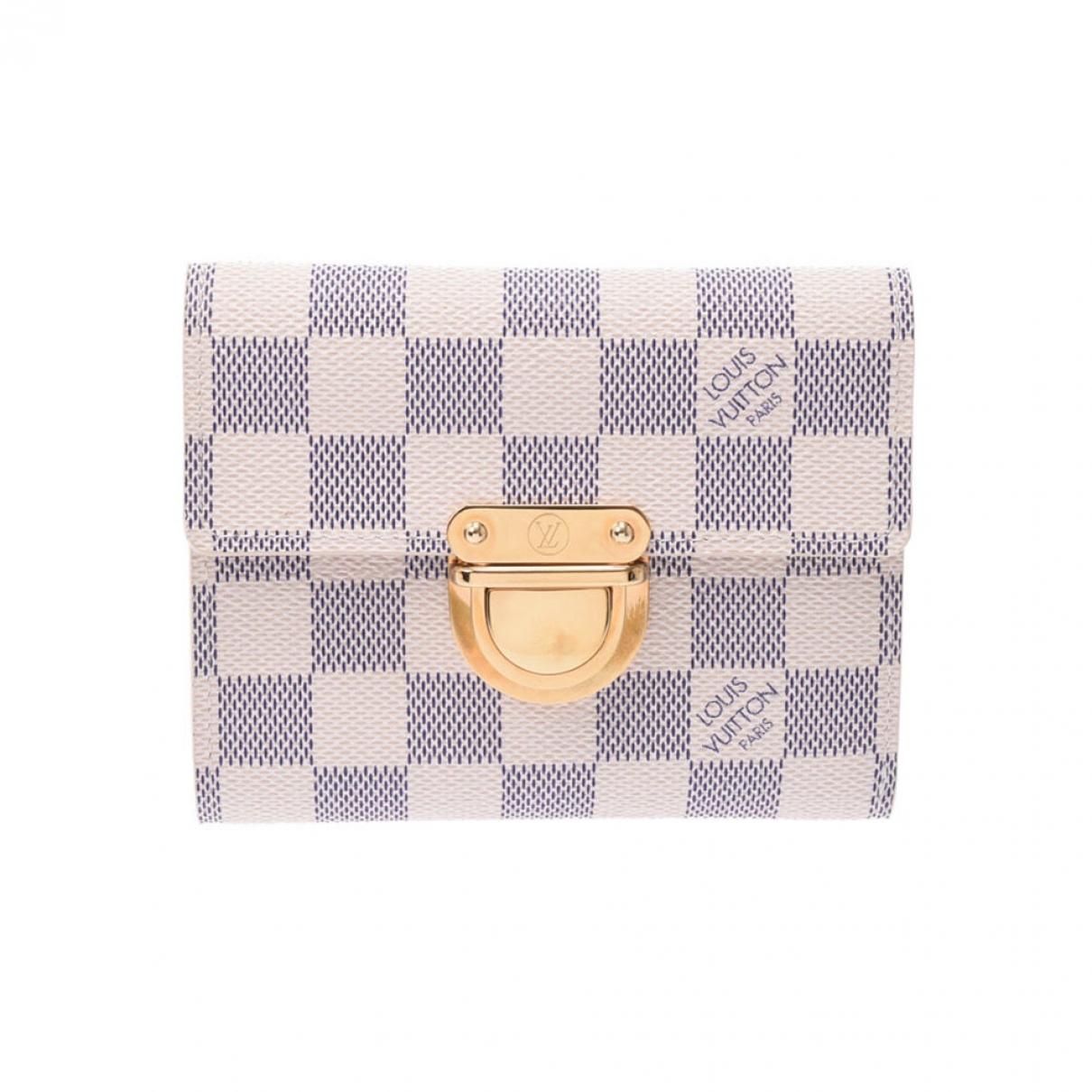 Louis Vuitton - Portefeuille Koala pour femme en toile - blanc