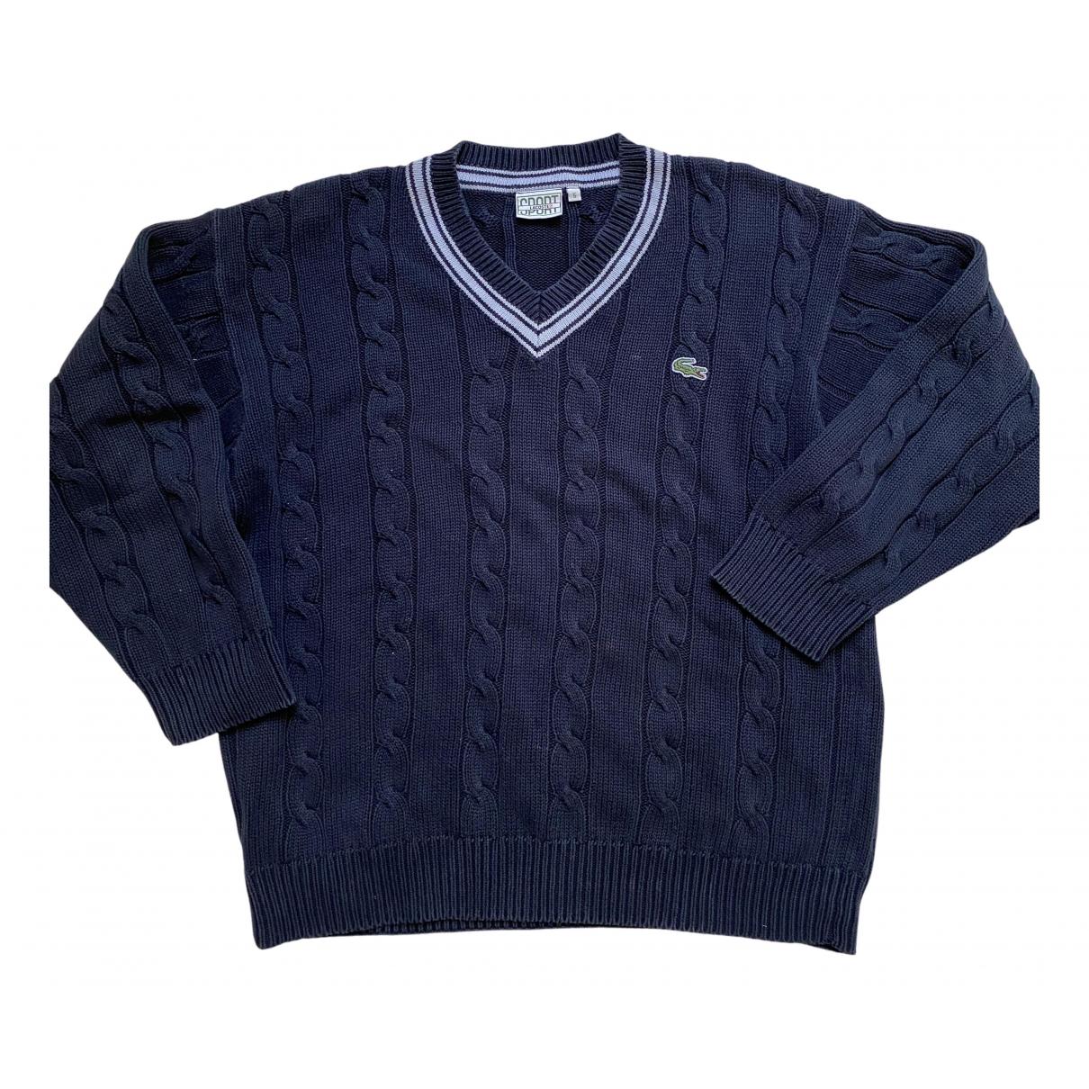 Lacoste \N Pullover.Westen.Sweatshirts  in  Bordeauxrot Wolle