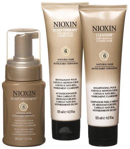 Starter Kit 6 Natural Hair Noticeably Thinning Hair For Medium Coarse Hair