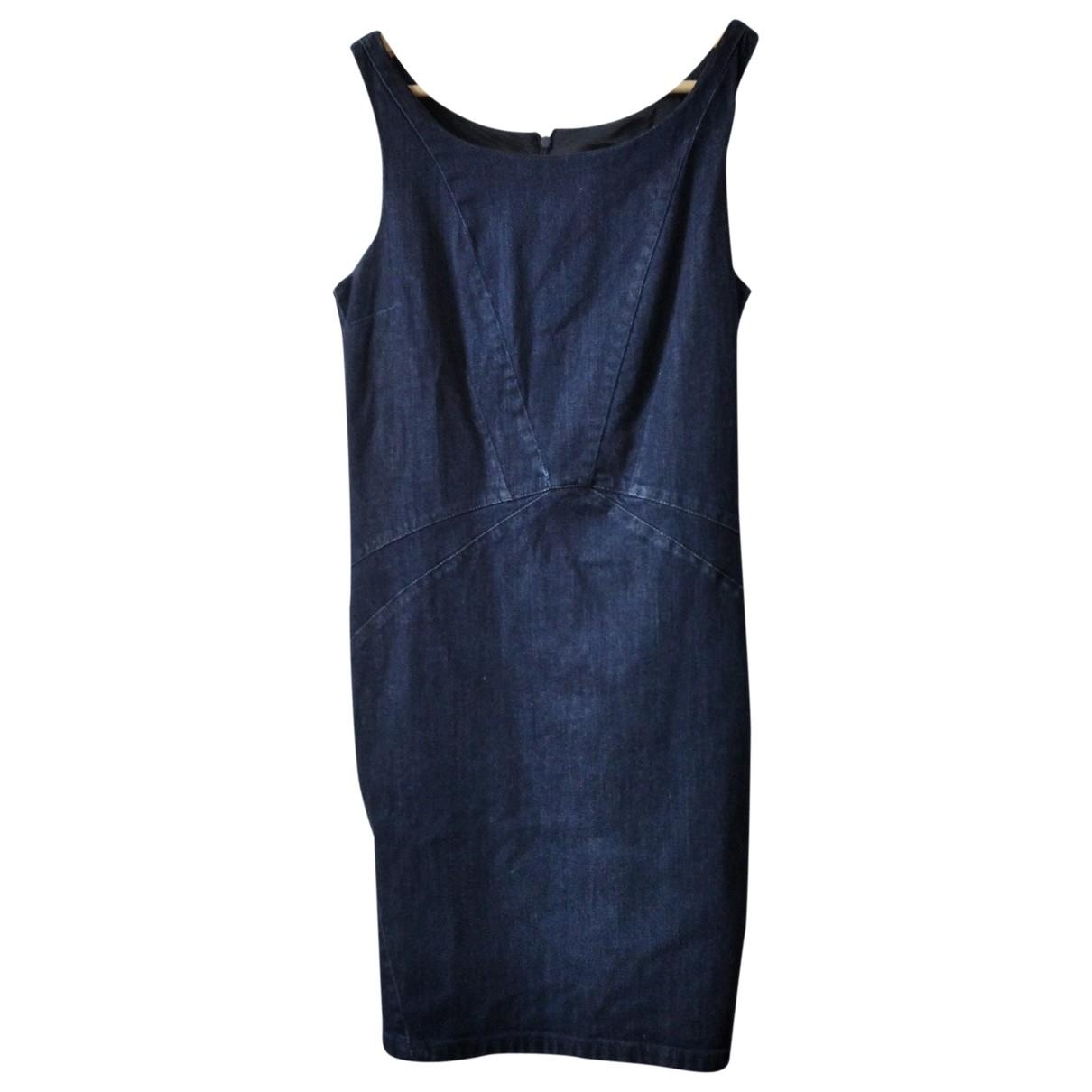 Armani Jeans \N Navy Cotton dress for Women 46 FR