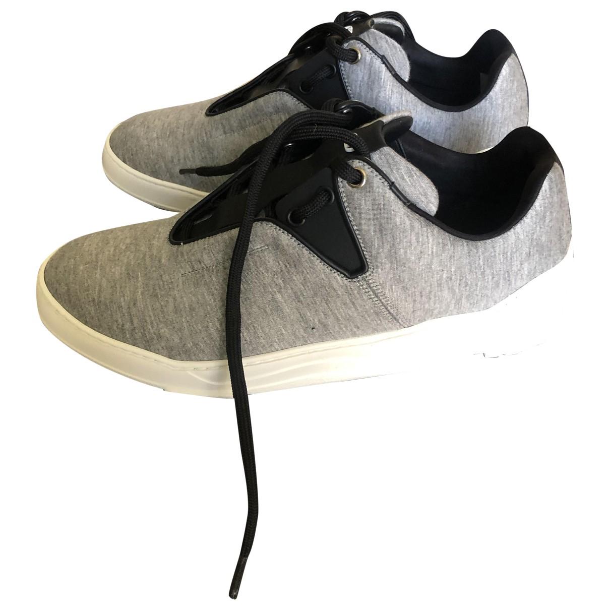 Dior Homme - Baskets B17 pour homme en toile - gris