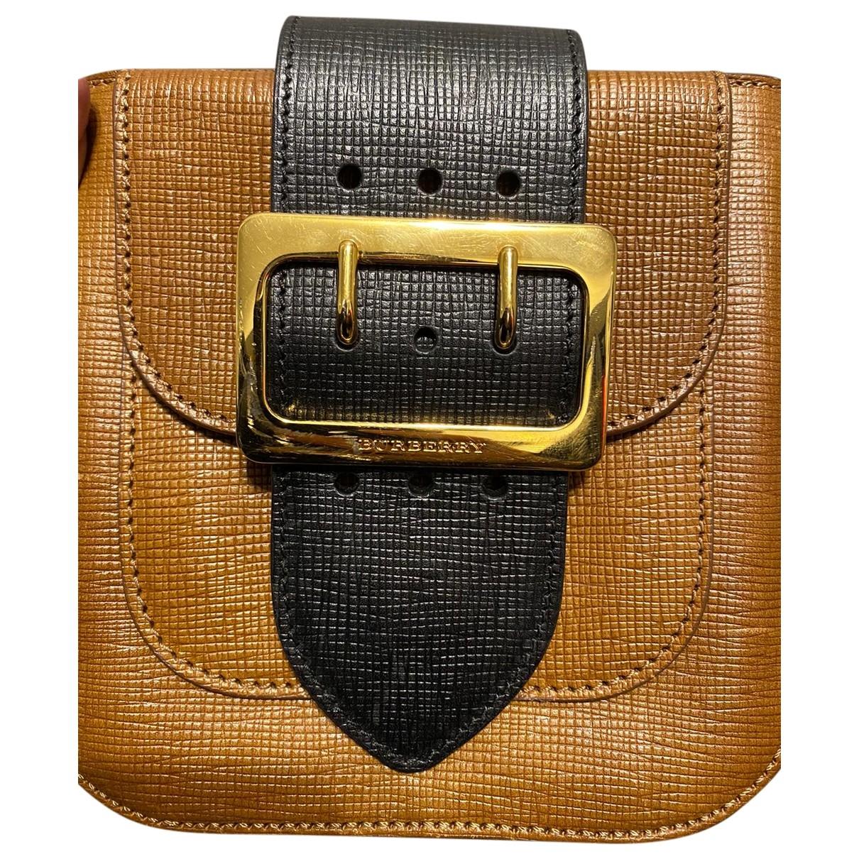 Burberry - Sac a main The Belt pour femme en cuir - camel