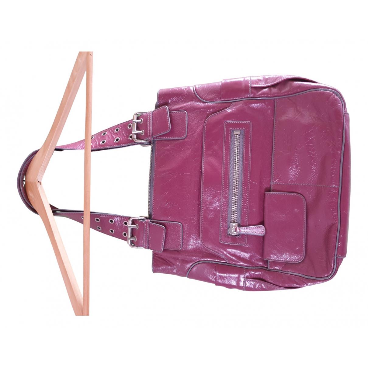 Tosca Blu \N Handtasche in Leder