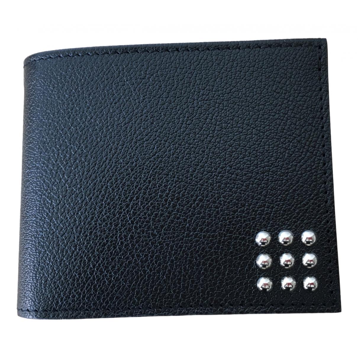 Laffargue - Petite maroquinerie   pour homme en cuir - noir