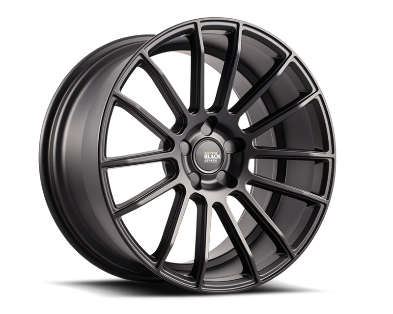 Savini BM09-22105520B2879 di Forza Matte Black BM9 Wheel 22x10.5 5x120 28mm